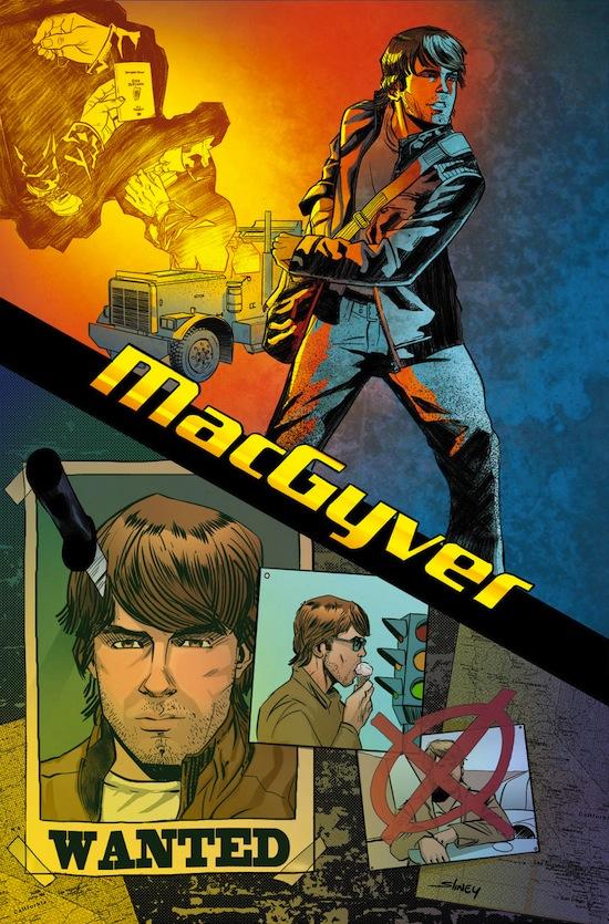 MacGyver Gibi Quadrinhos