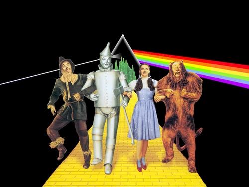 Magico de Oz e Pink Floyd