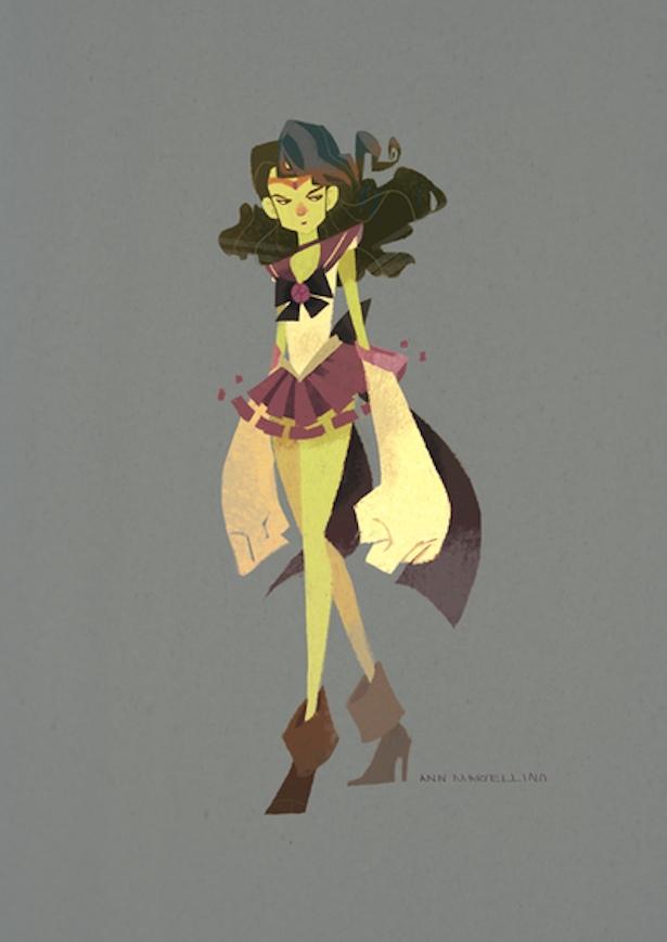 Mashup - Sailor Moon e os Vingadores