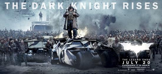 Novo trailer de Batman - Dark Knight Rises