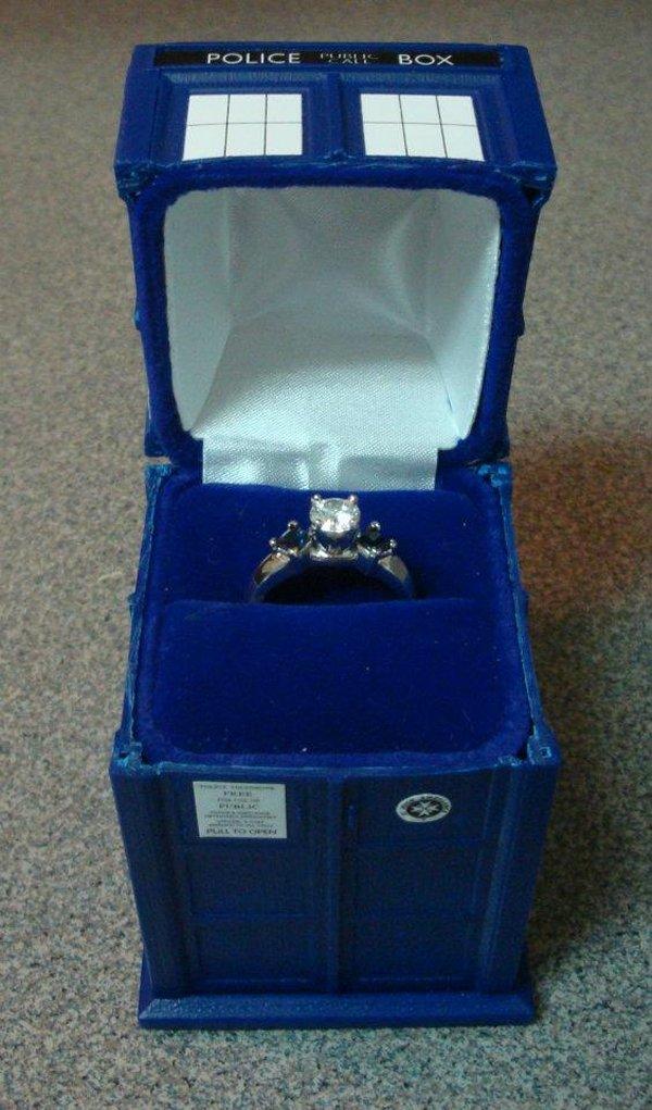 Porta-Jóia do Dr Who