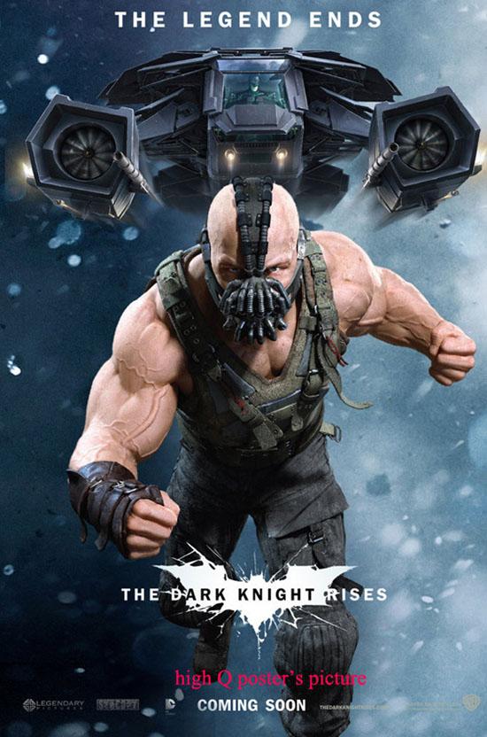 Posters e mais posters de Batman - The Dark Knight Rise