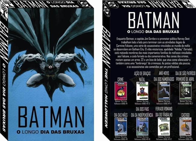 Resenha Nerd Batman O Longo dia das Bruxas