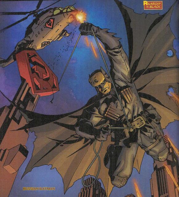 Resenha Nerd - Superman entre a Foice e o Martelo  - Batman