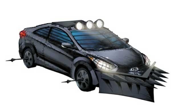 Robert Kirkman, o criador de The Walking Dead, desenhou o carro ideal para um apocalipse Zumbi -