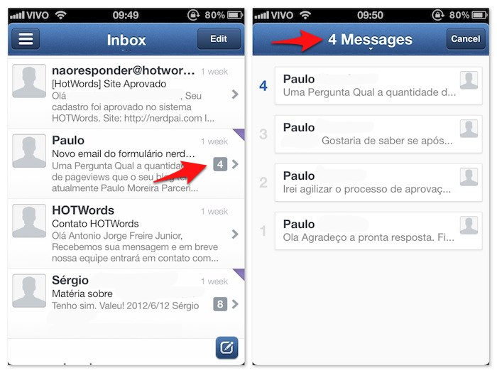 Sparrow - O melhor app de e-mail para iPhone ios apple
