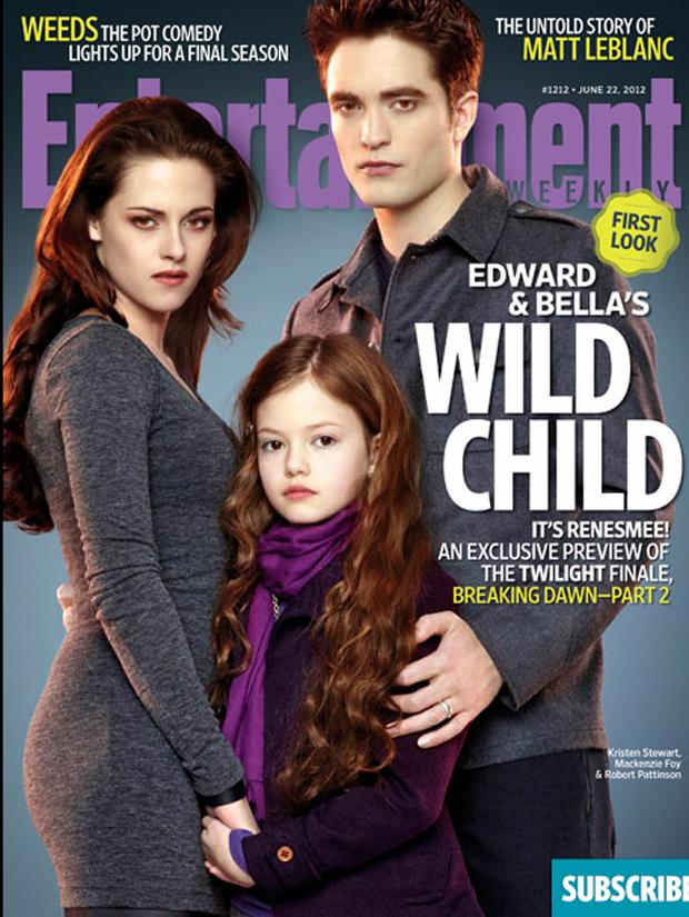 Temo pelo futuro do Padawan - Saga Eclipse The Twilight Saga: Breaking Dawn - Part 2 Amanhecer parte 2 capa filha