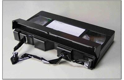 Rebobinar a fita do VHS