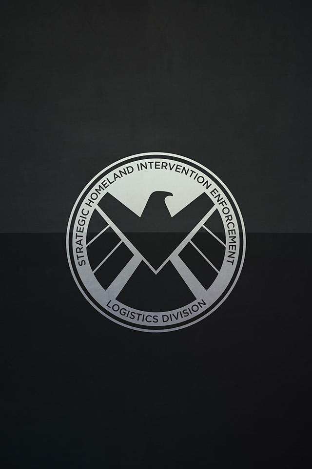Wallpaper - Batman, Shield e Iron man