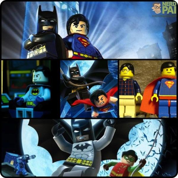 batman superman lego