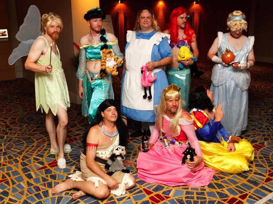 cosplay princesas homens