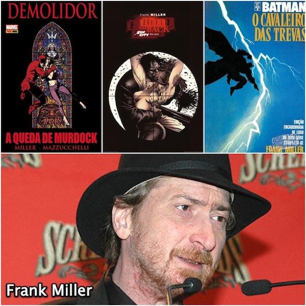 Demolidor, Sin City e Batman de Frank Miller