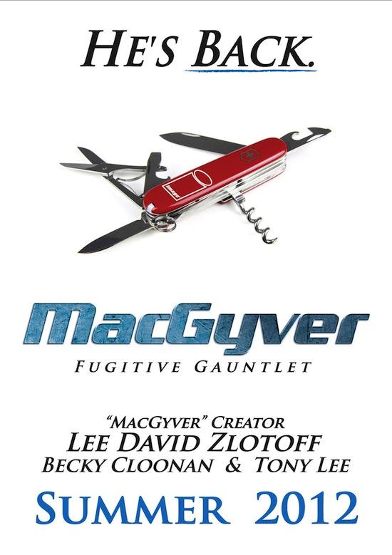 MacGyver Cover Gibi Quadrinhos