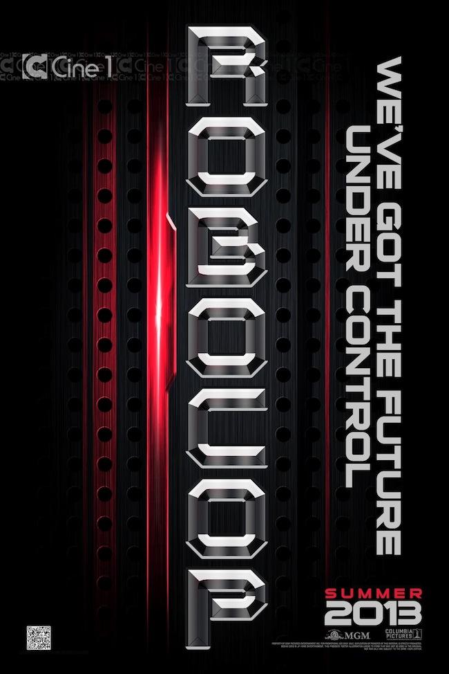 Pôster Teaser - RoboCop