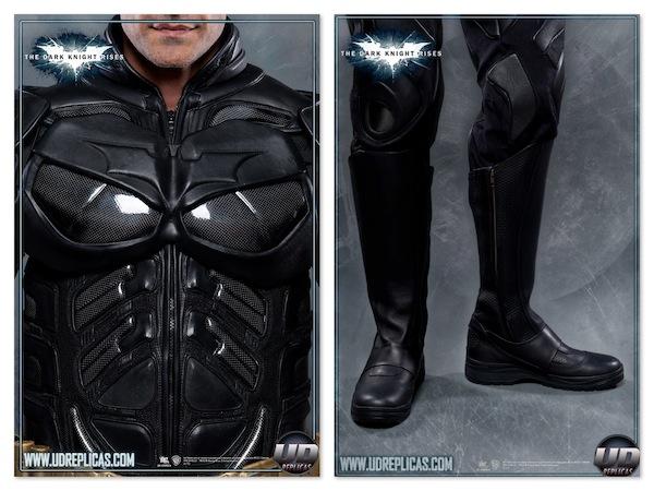 Seja o Batman roupa motociclista moto