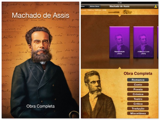 Machado de Assis - Obra Completa para iPad Apple