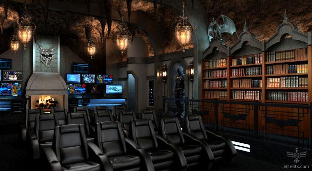 2 milhões no Batman Dark Knight home theater