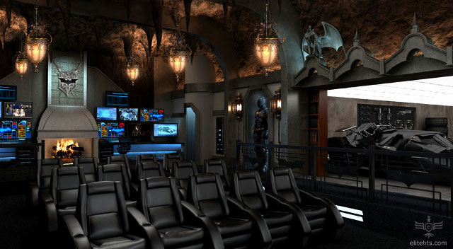 2 milhões no Batman Dark Knight home theater