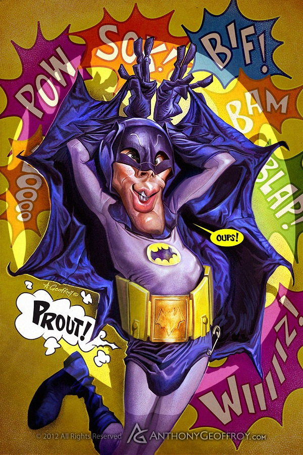 Batman e seus atores  - Adam West
