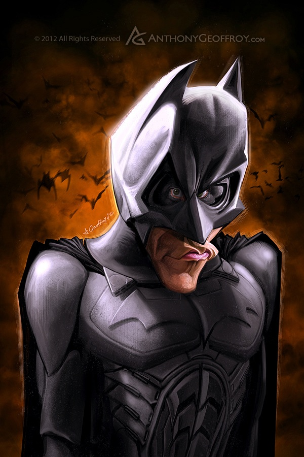 Batman e seus atores  Christian Bale