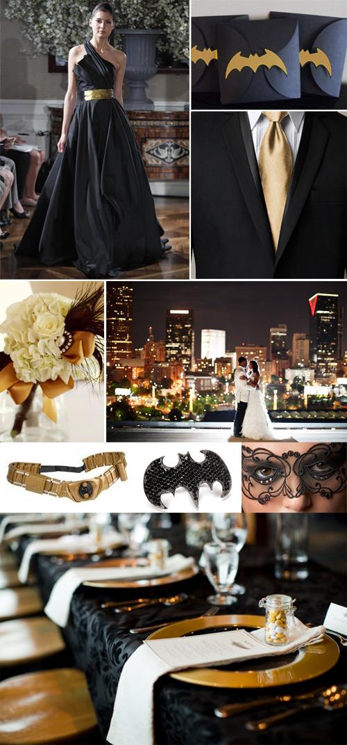 Case com o tema do Batman Casamento