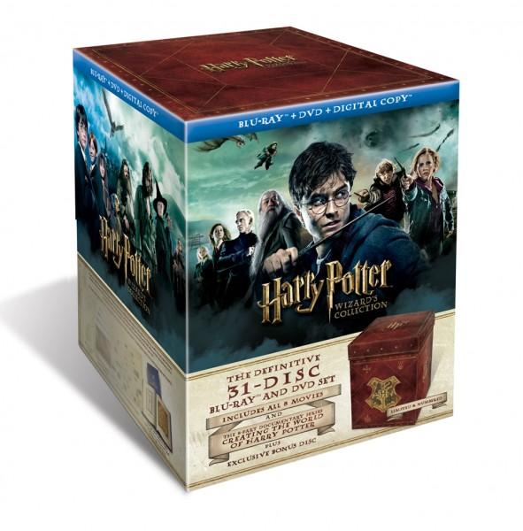 Harry Potter Wizard Collection terá lançamento oficial no Brasil