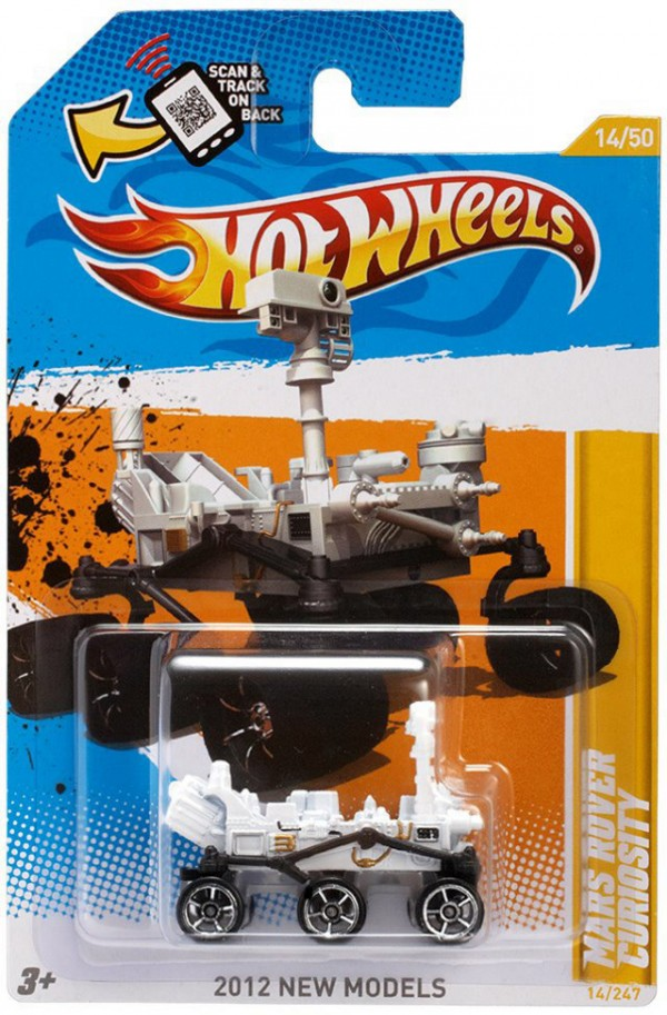 Hot Wheels lança o Rover Curiosity