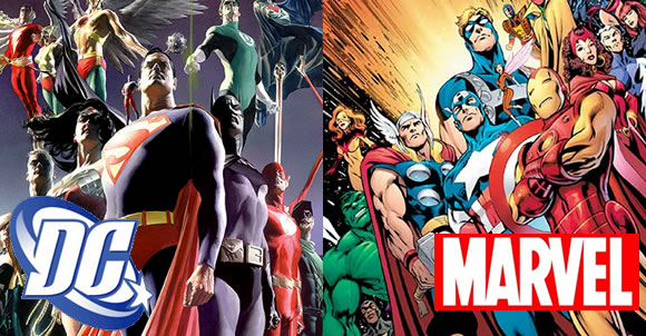 Marvel e DC Comics devem se unir já