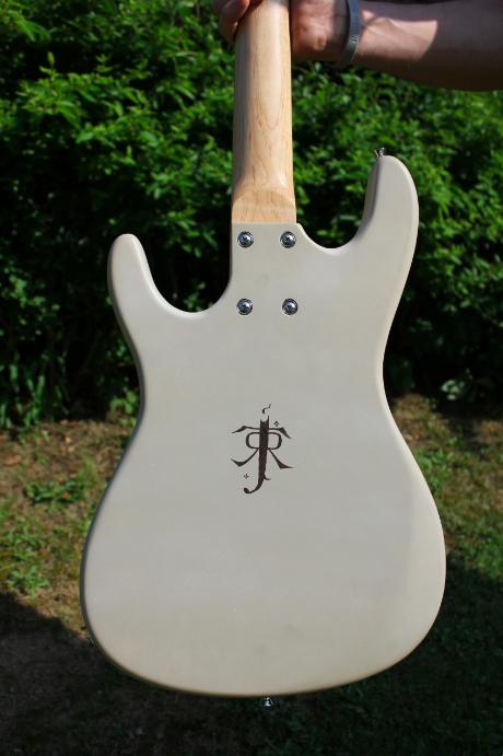 O Senhor dos Anéis guitarra