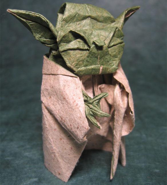 Star Wars Origami Yoda