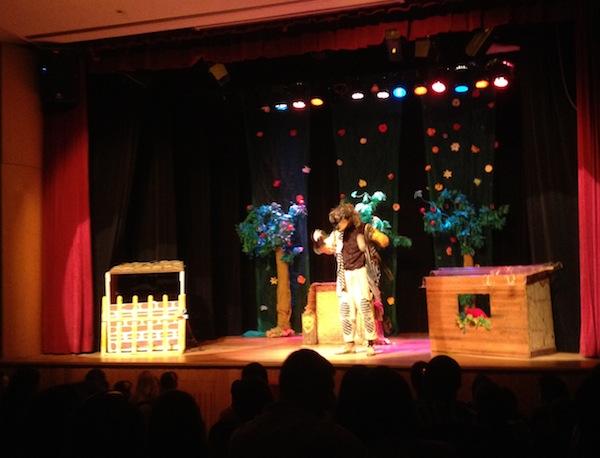 Teatro com o Padawan três porquinhos