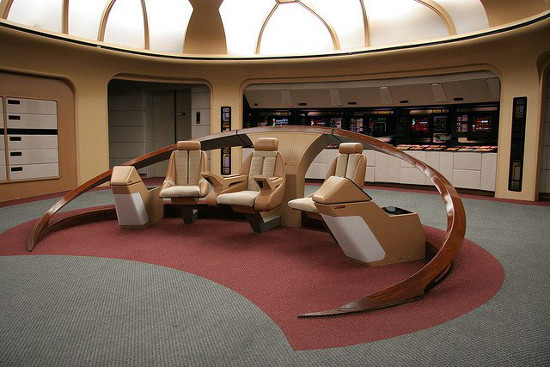 Trekkie restaurou a ponte original da Enterprise
