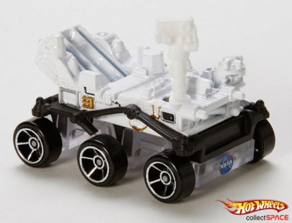 Hot Wheels lança o Rover Curiosity