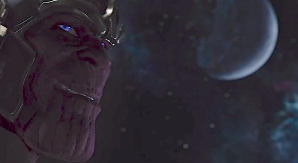 Thanos  - Os Vingadores cenas pós-crédito