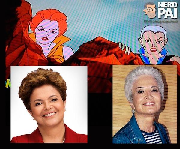 Tila Dilma Maligna Gloria Menezes sem capacete