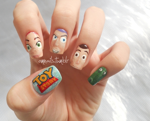 Unhas Toy Story