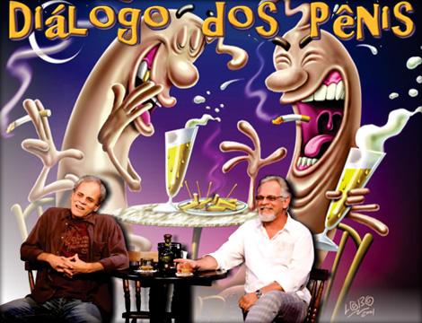 Diálogo do Pênis e outros posters