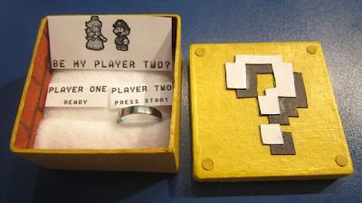 Pedido de casamento - Super Mario Bros