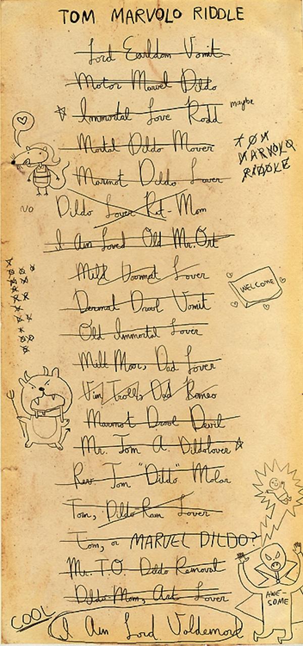 Qual a relação de Harry Potter com o Mortal Dildo Mover