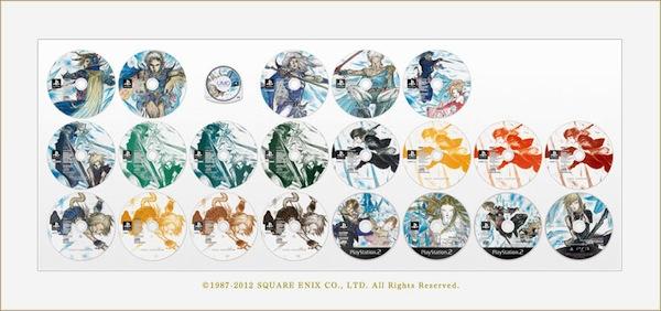 Square-Enix anuncia box comemorativo dos 25 anos de Final Fantasy 02