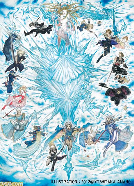 Square-Enix anuncia box comemorativo dos 25 anos de Final Fantasy 03