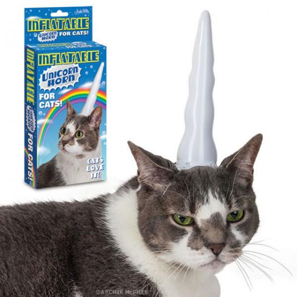 Transforme seu gato em um unicórnio