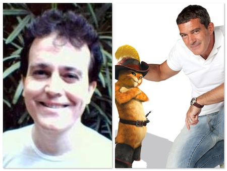 Alexandre Moreno e Antonio Banderas