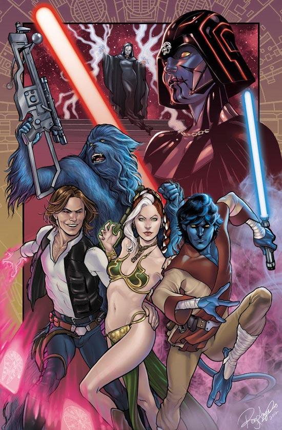 X-Men em Star Wars