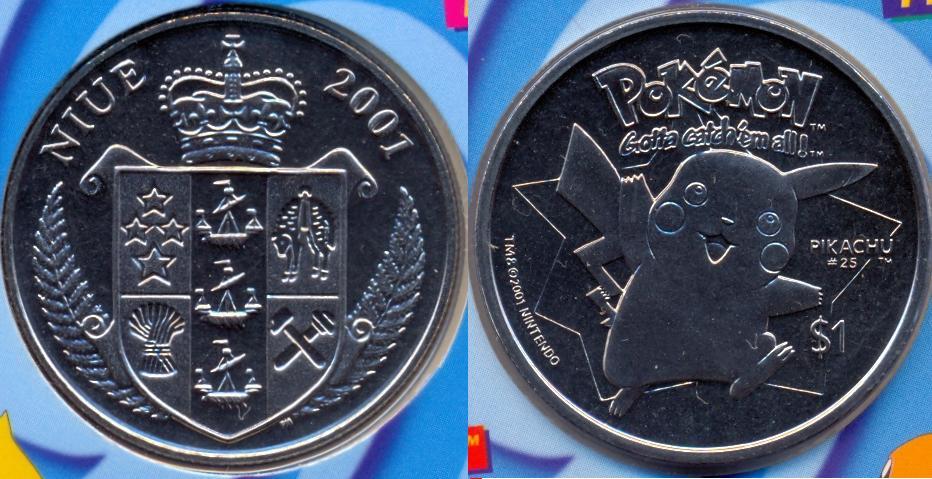 moedas de Niue
