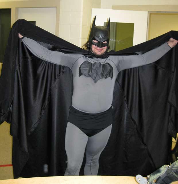 Batman é preso nos EUA