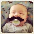Chupeta Bigode para Bebês – Eu não quero