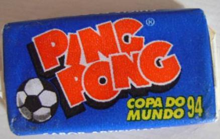 Pasta de dente do chiclete Ping Pong   9c8a962545c75