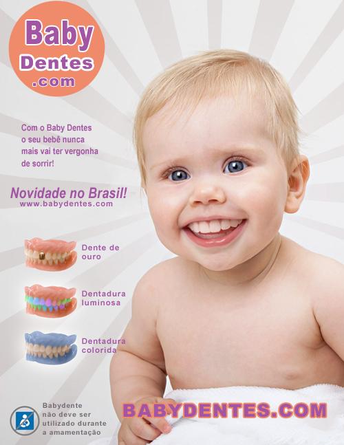 Dentadura para Bebês - Eu não quero