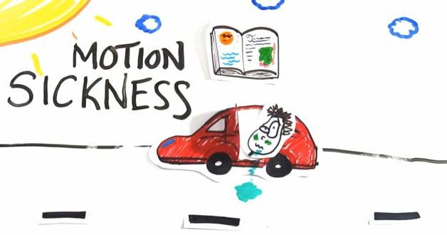 Motion Sickness - Cinetose - Nerd Pai Explica